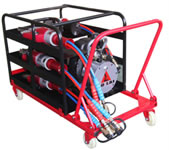 Portable Cart for Micro Rescue Kit
